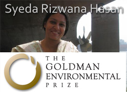 Sayeda Rezwana Hasan The Goldman Environmental Prize