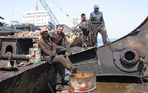 Turkey shipbreaking yard